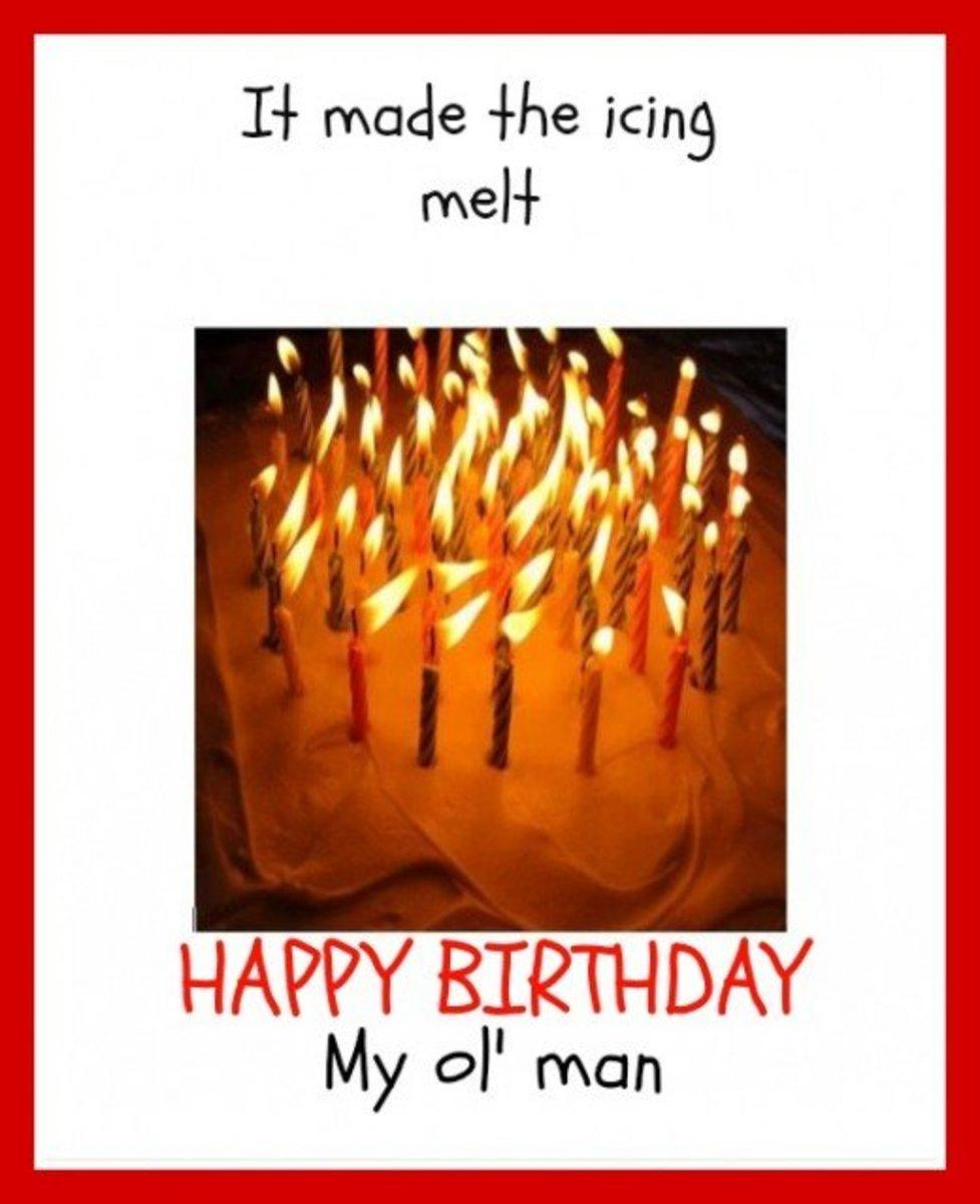 Inside Funny Birthday Card