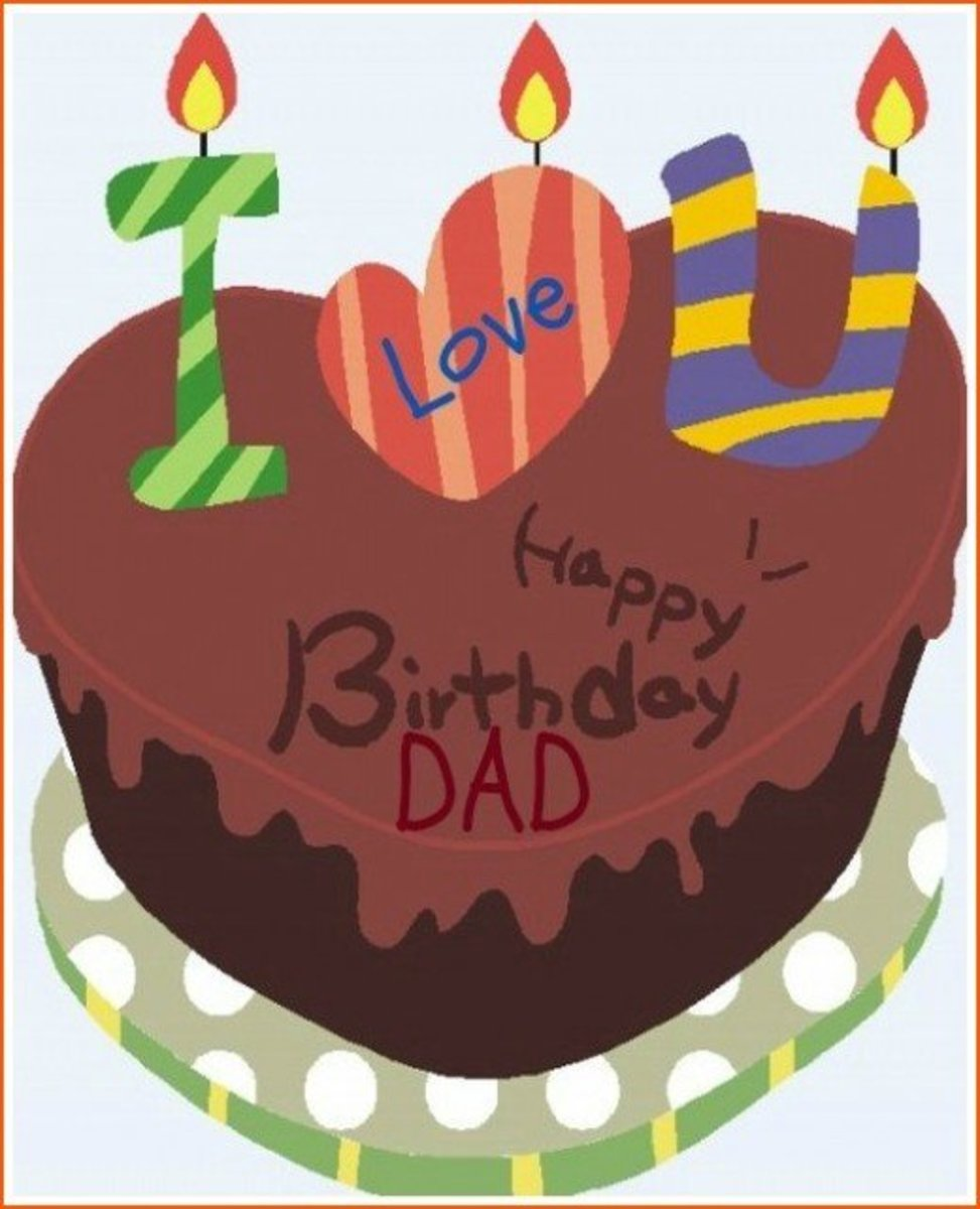 Inside Card Birthday Poem for Dad from Daughter