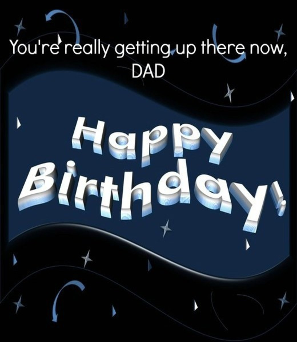 Birthday ECard for Dad Over Forty