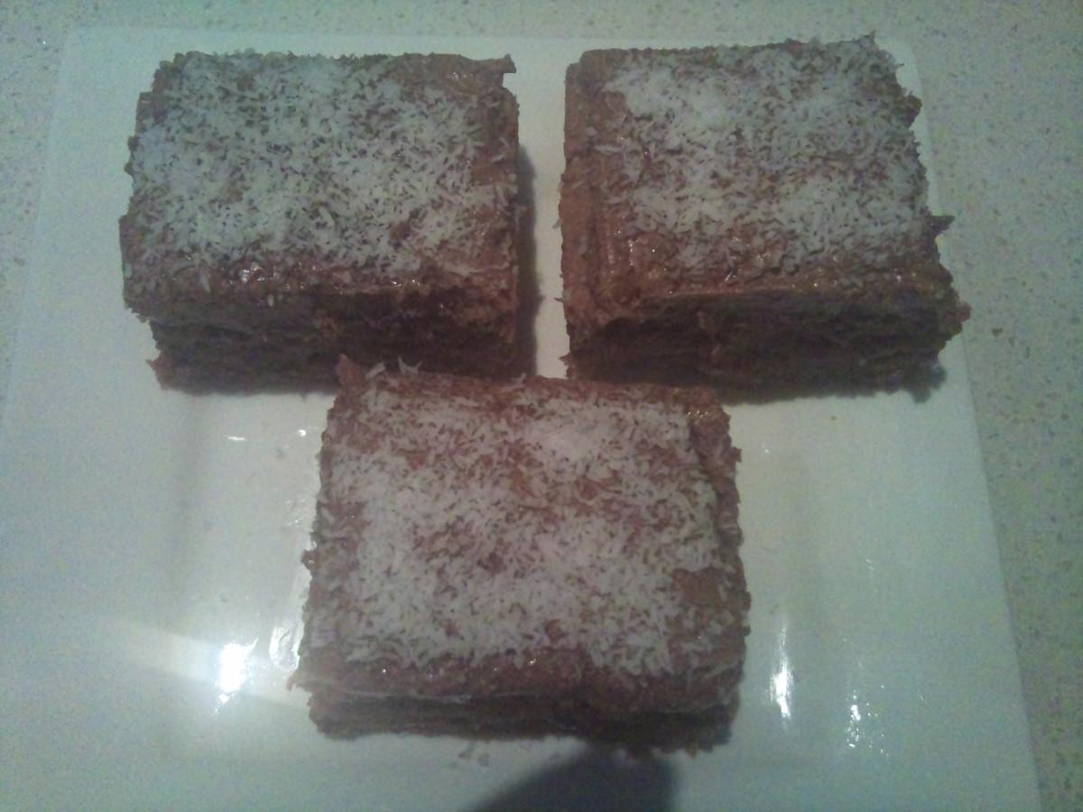 The Best, Most Indulgent Chocolate Slice Recipe