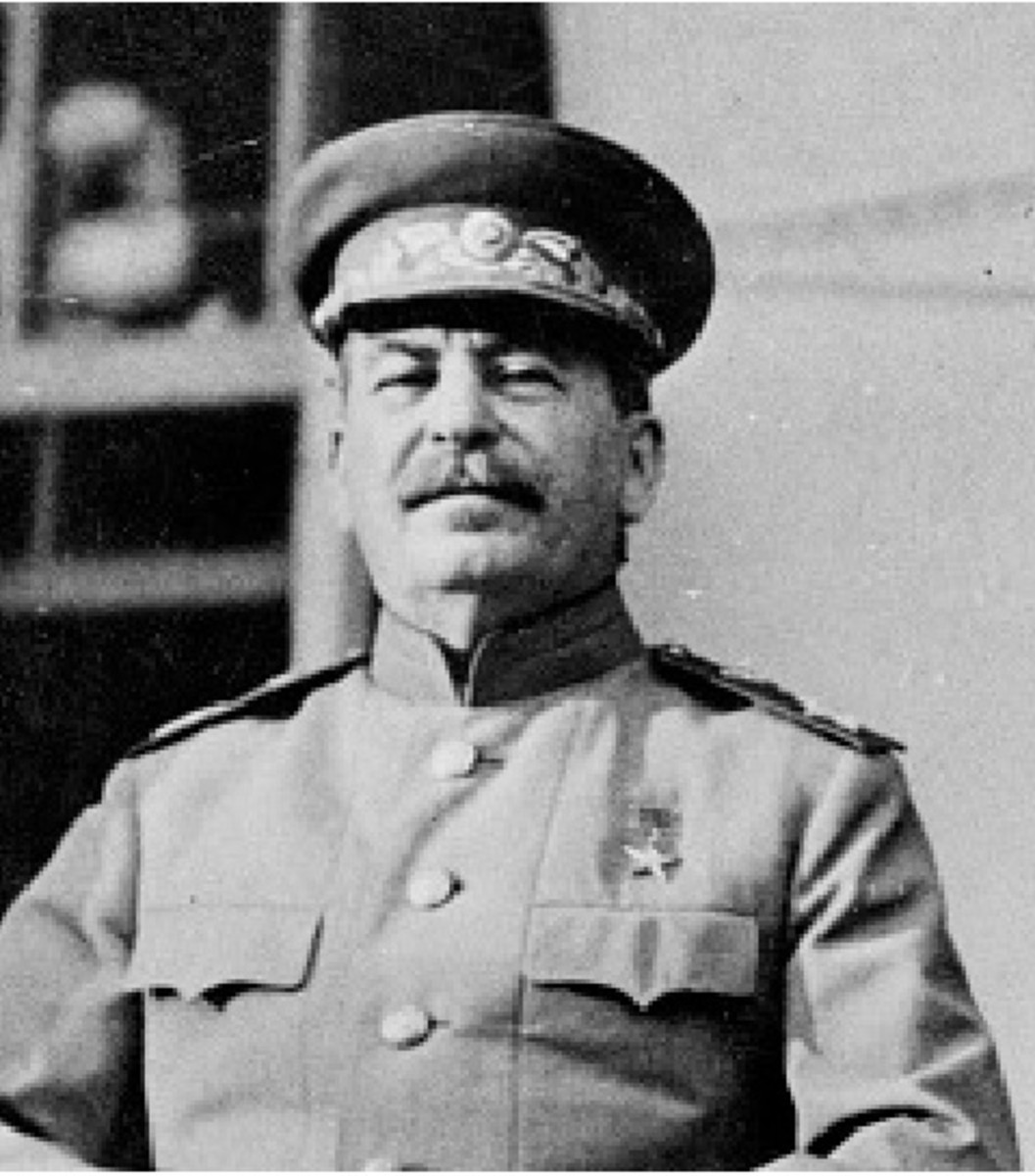 Soviet Dictator Joseph Stalin (Ио́сиф Виссарио́нович Ста́лин)