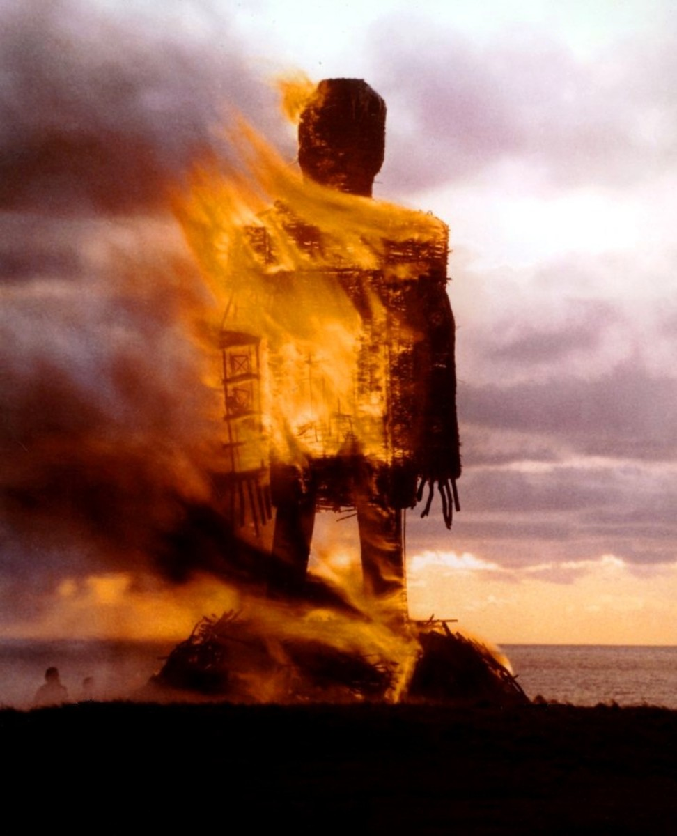 Remember 'The Wicker Man' with Edward Woodward as the beguiled policeman drawn to the isle, only to end up among sacrificial animals. Better known for Brit Ekland's nude dance