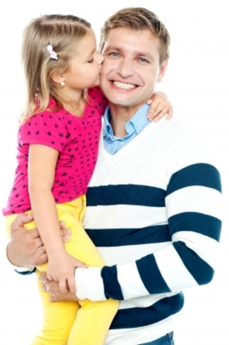 Happy Parent and Child