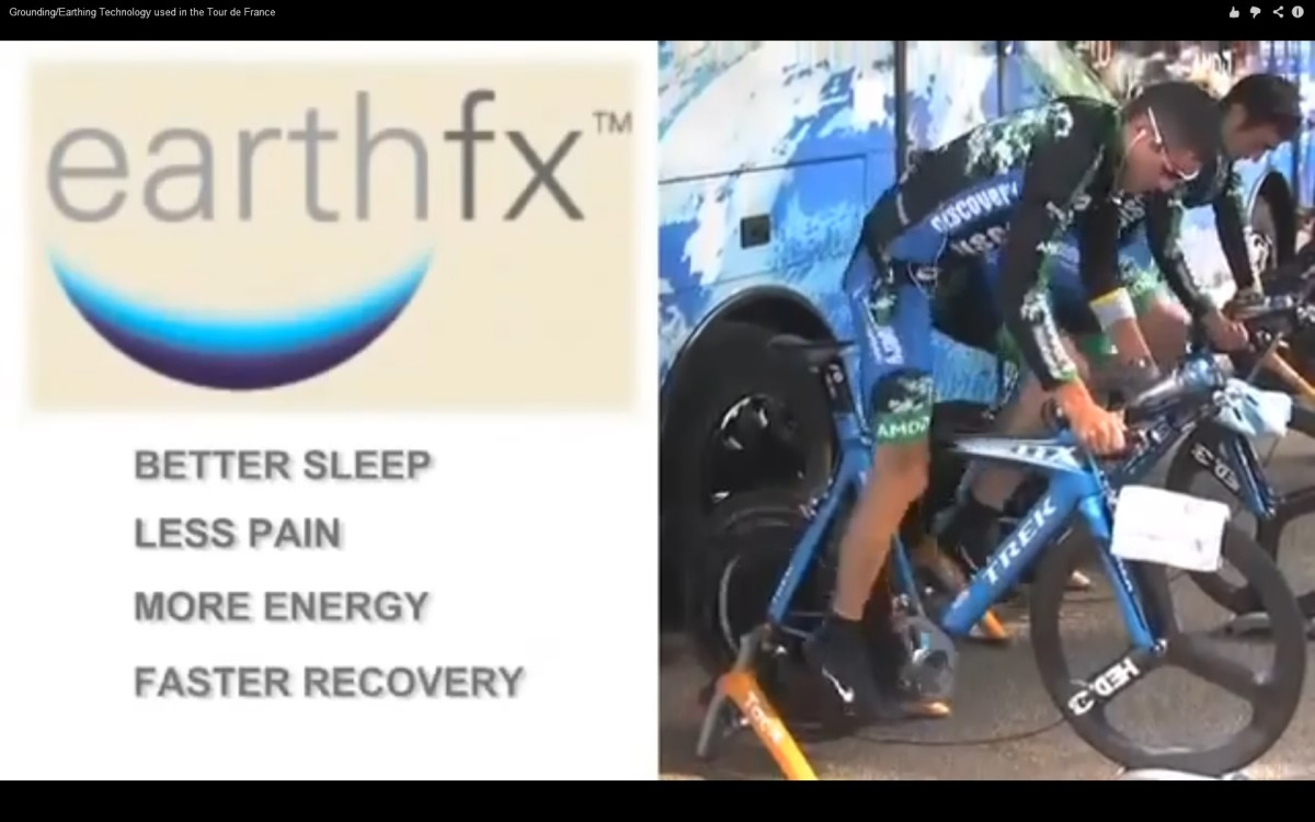 This  technology of earthing or grounding is used extensively in the Tour De France bicycle races. Watch the video below on this. The Tour de France race is like running 3 marathon races a day for 22 days.