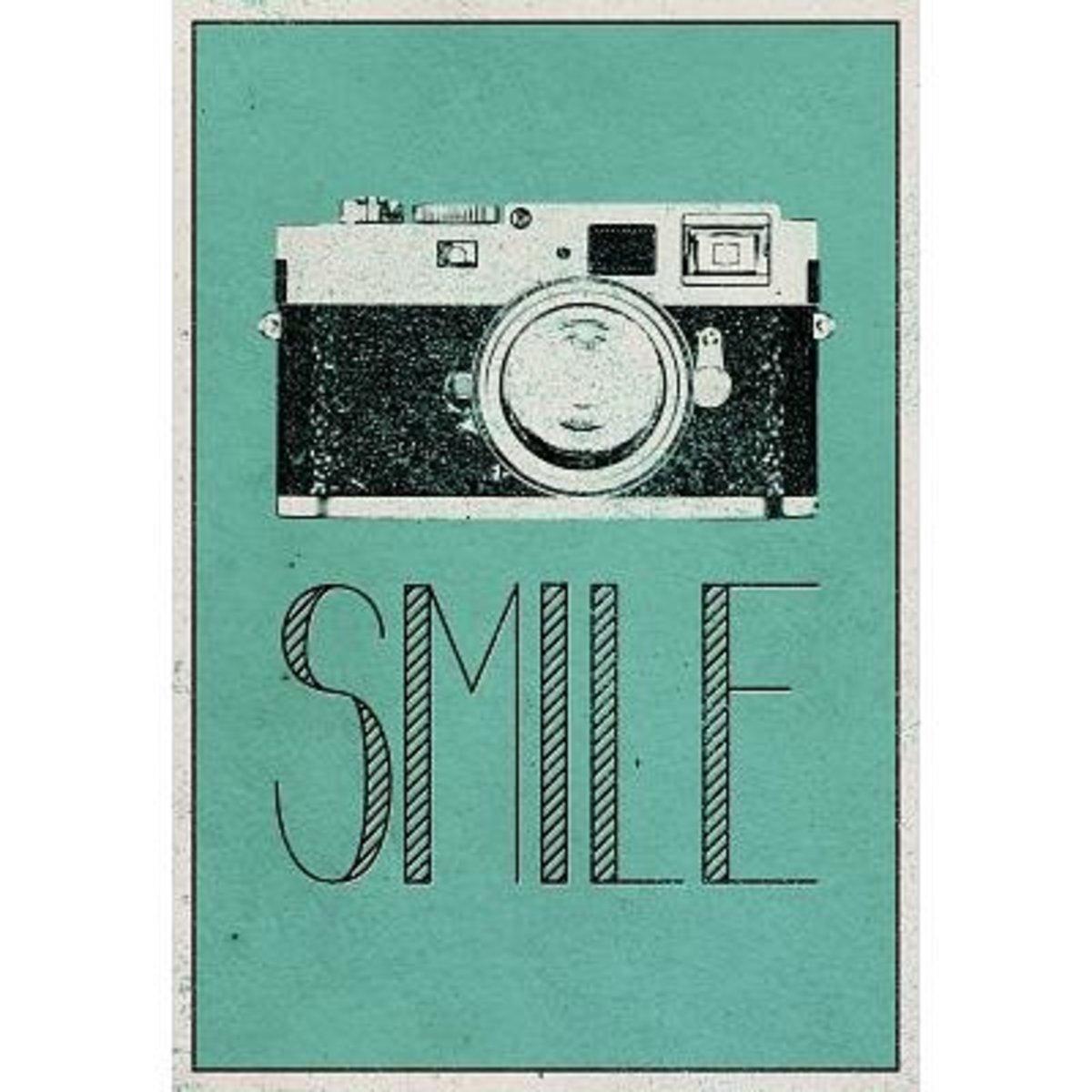 Buy SMILE Poster on Amazon
