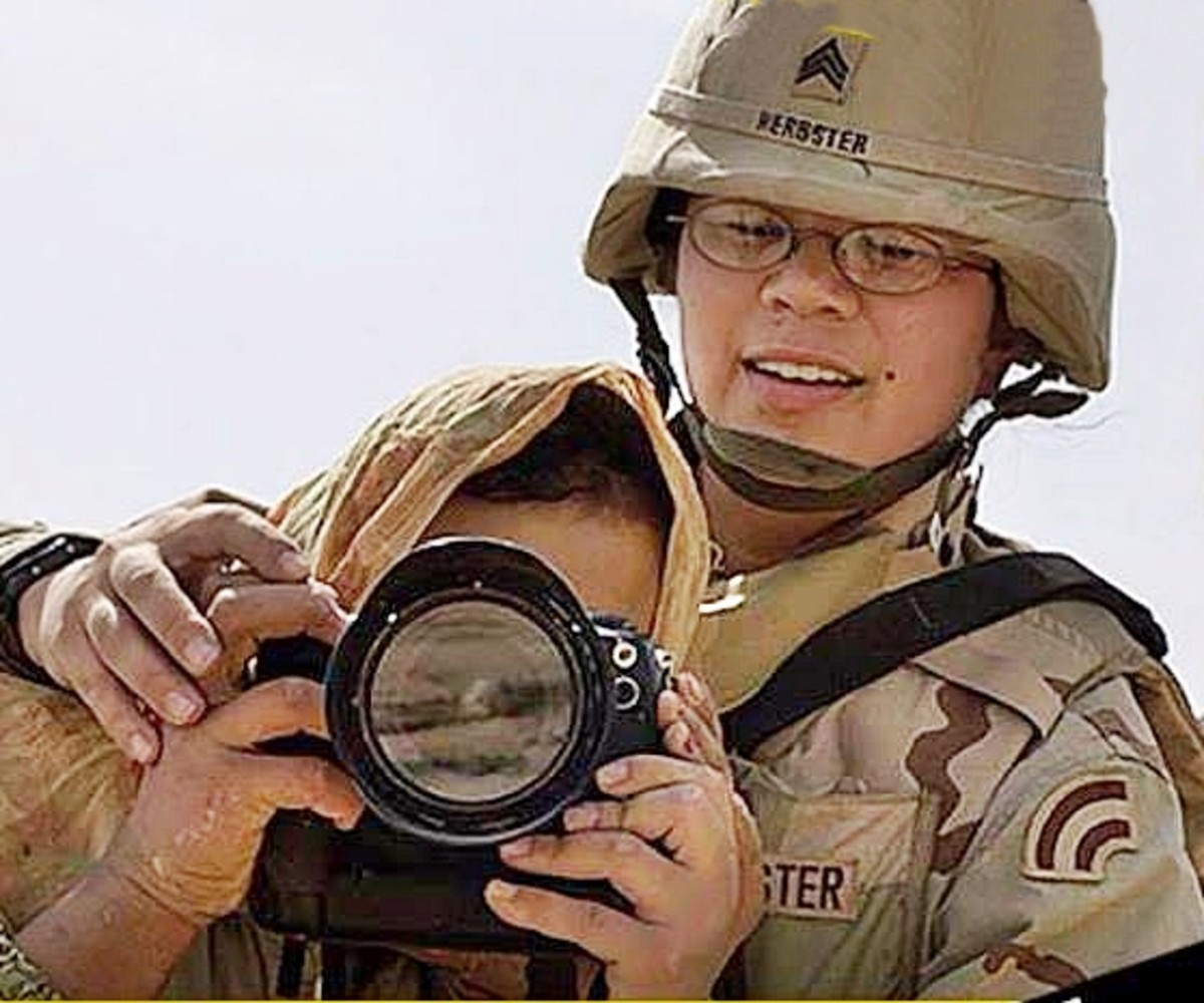 Tammy Herbster in Iraq war