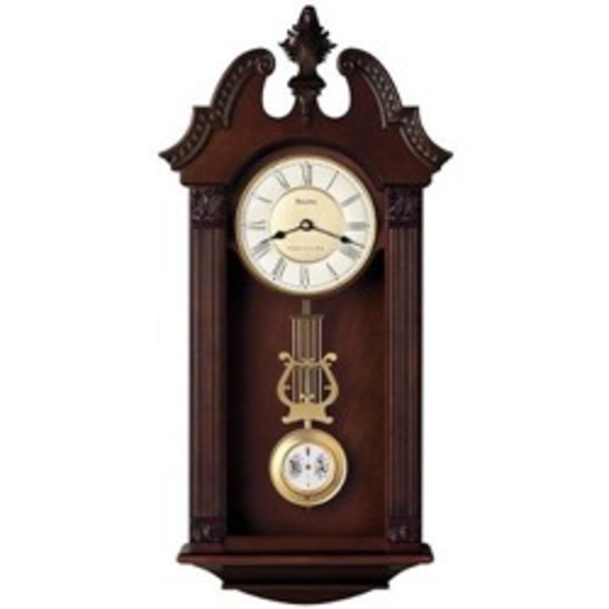 Bulova Ridgedale Chime Wall Clock
