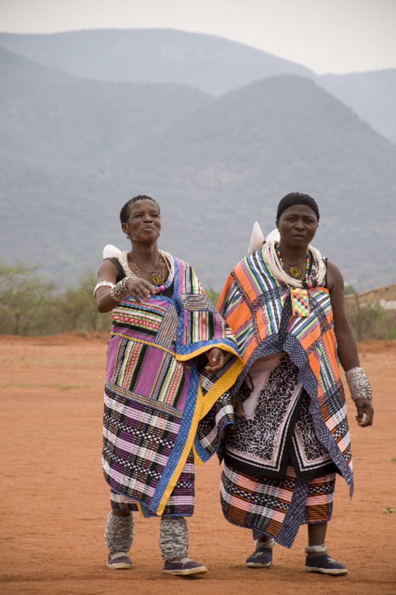 Venda Women in their traditional dress
