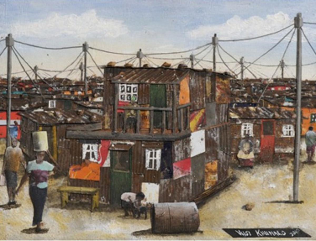 South African African Art