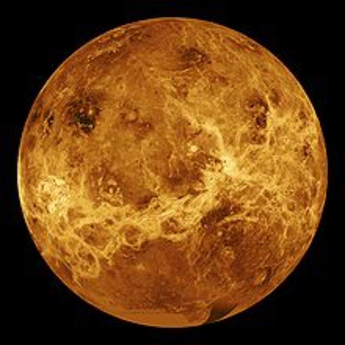 Diameter of Venus = 7,522 Miles Distance from Venus to the Sun = 67 Million Miles at its closest, to 68 Million miles at its furthest. Distance from Venus to Earth = 25 Million Miles at its closest. One Rotation of Venus takes = 243 Earth Days One Or