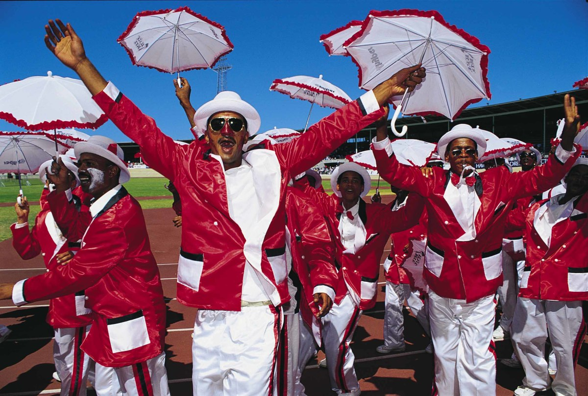 """South African """"Colored"""" people's Culture - The Cape Minstrels"""