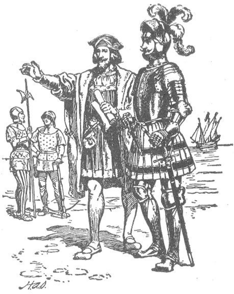 European Dress during their 'explorations'