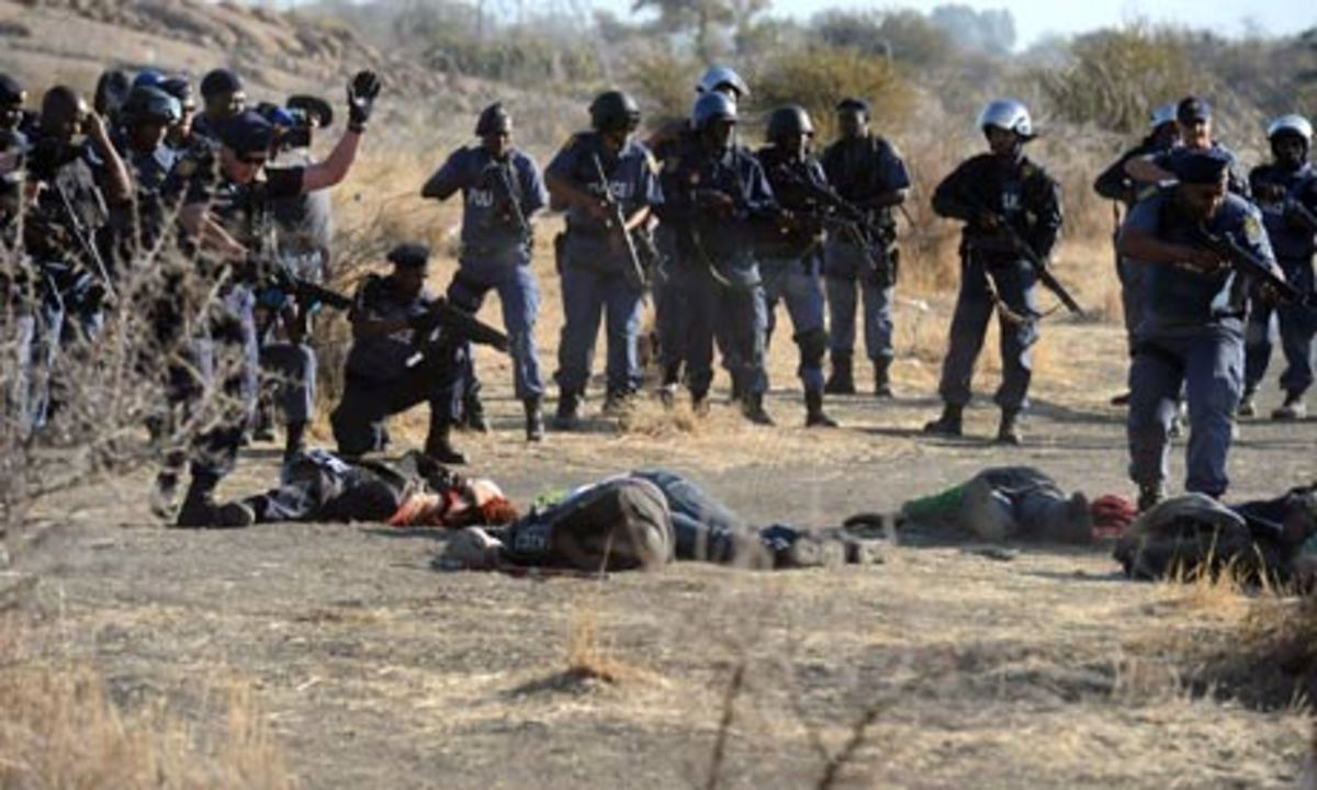 The Operations of the Past Apartheid Government-No, These are the operatives of the New ANC Governments police