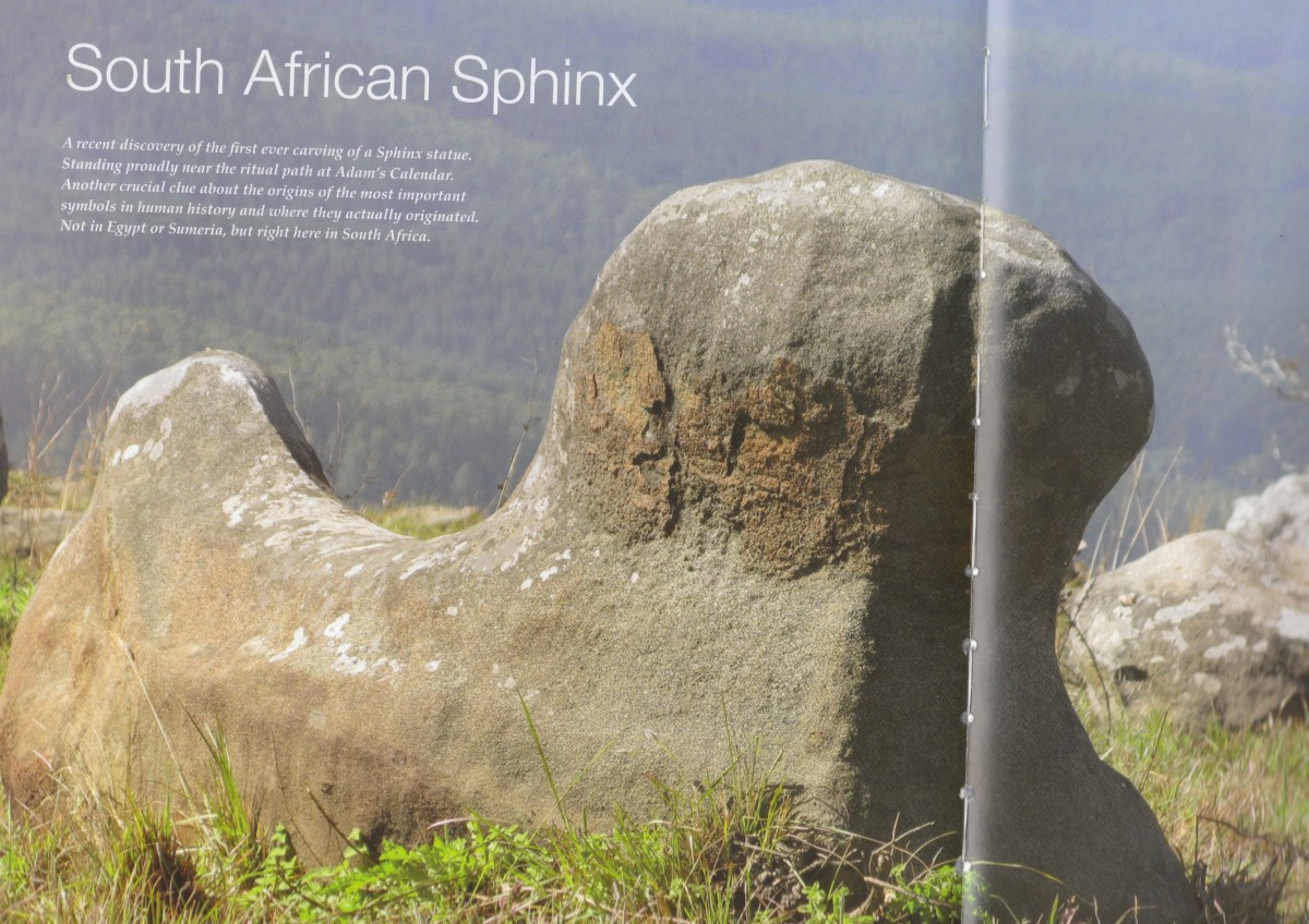 The Earliest known Sphinx- The South African Sphinx
