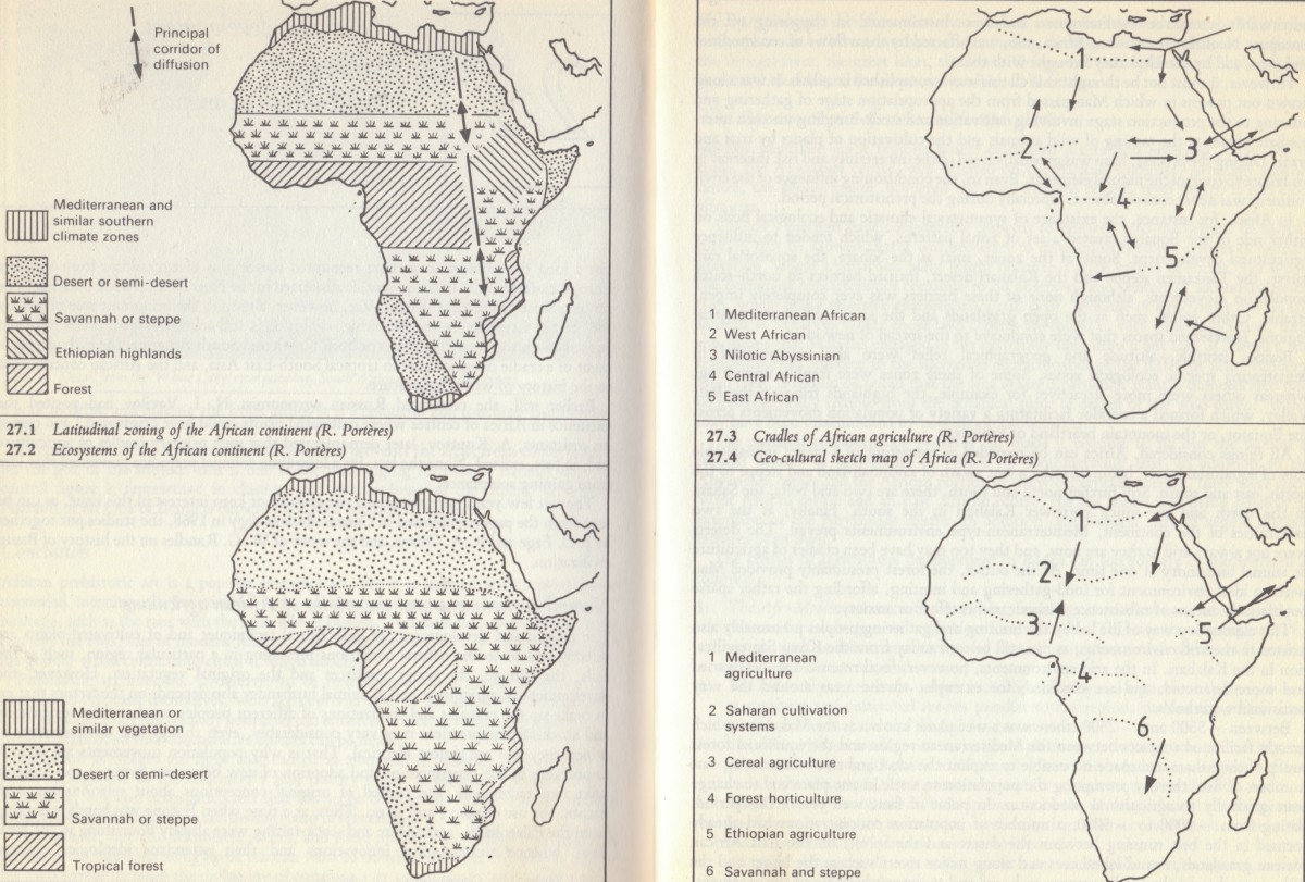 Natural Environments And The Origins of African Agriculture