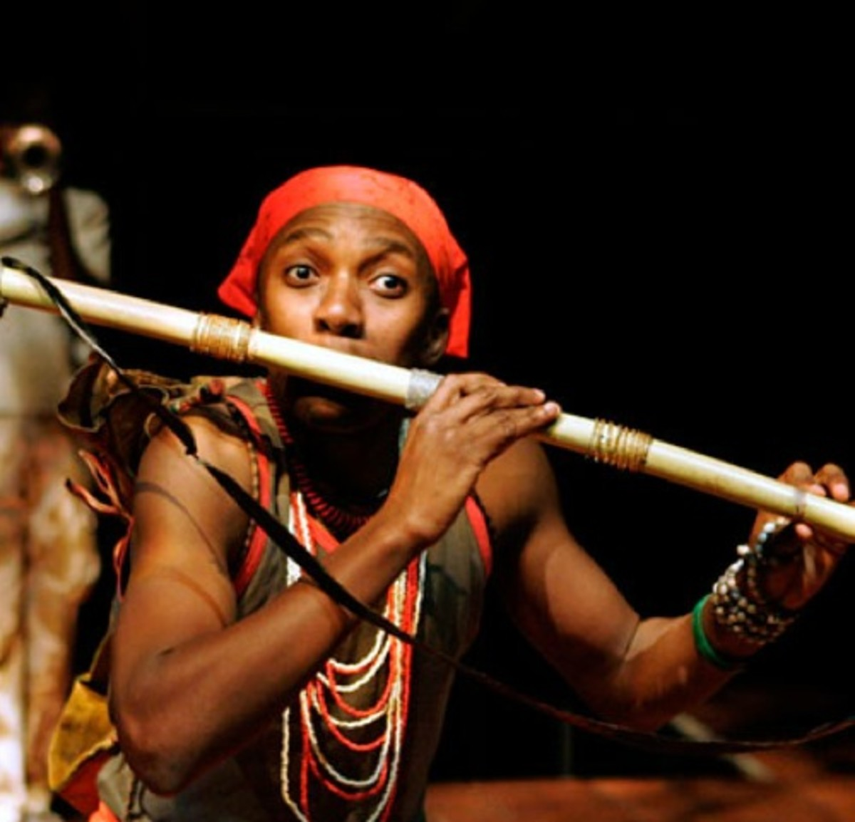 South African Traditional Fltue Player