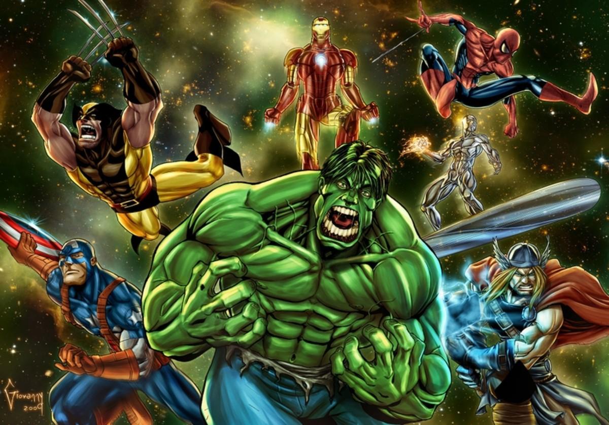 Who is the best Marvel Comic superhero? Spiderman Vs Wolverine Vs Hulk Vs Captain America Vs Ironman
