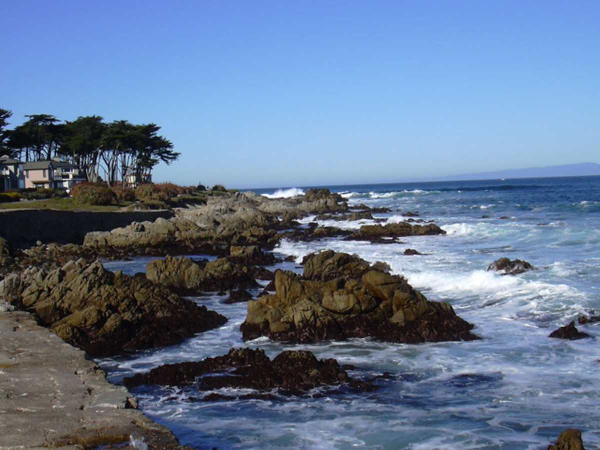 Lover's Point in Pacific Grove.