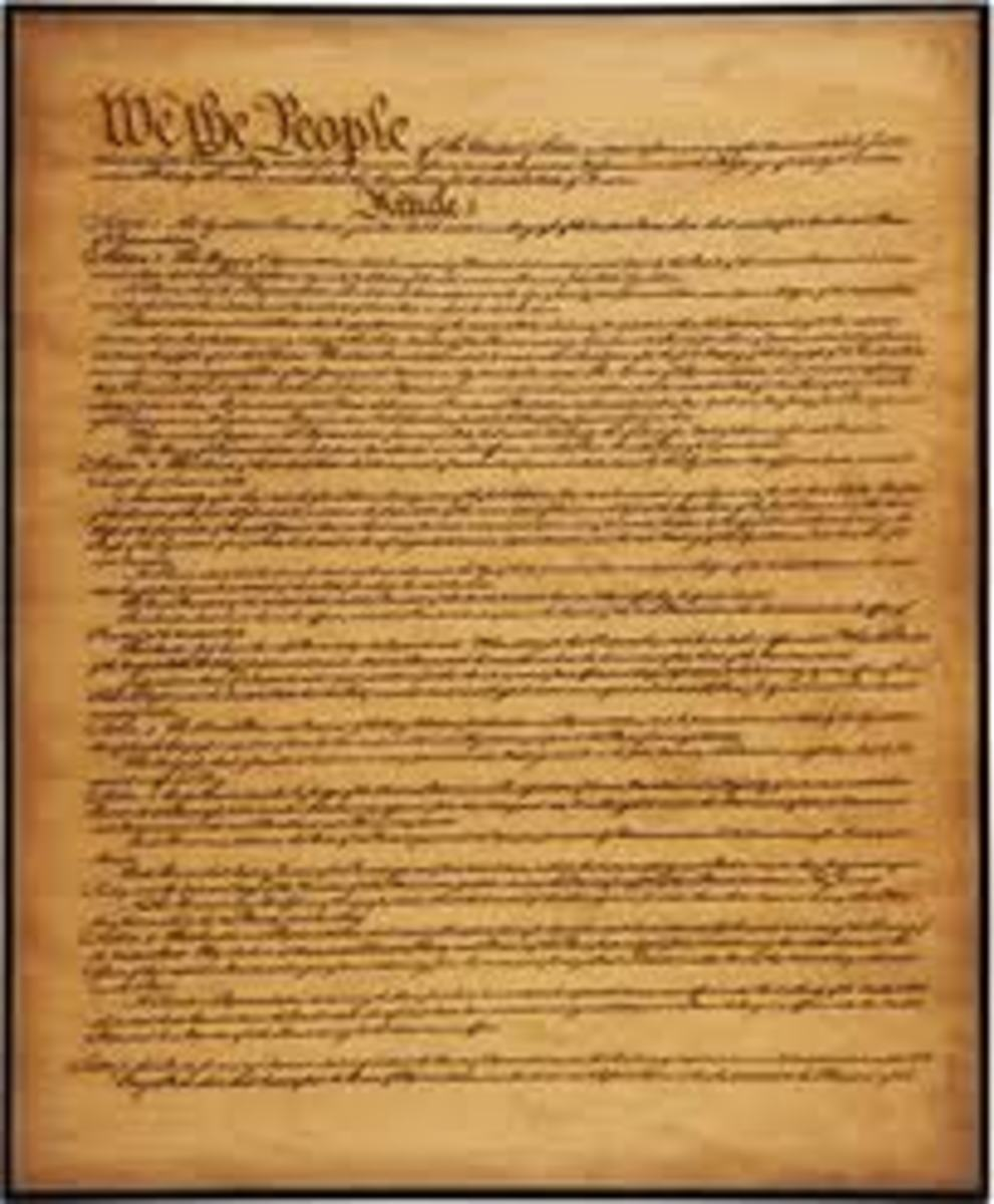 We the People of the United States, in Order to form a more perfect Union, establish Justice, insure domestic Tranquility, provide for the common defence, promote the general Welfare, and secure the Blessings of Liberty to ourselves and our Posterity