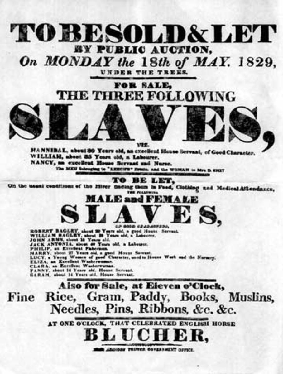 White Slavery and Servitude