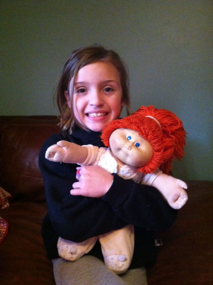 Relive your Childhood with a Cabbage Patch Kid Doll