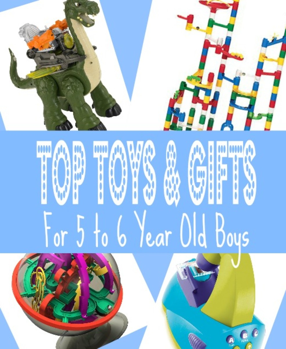 Hand-picked list of best gifts & toys for 5 to 6 year old boys