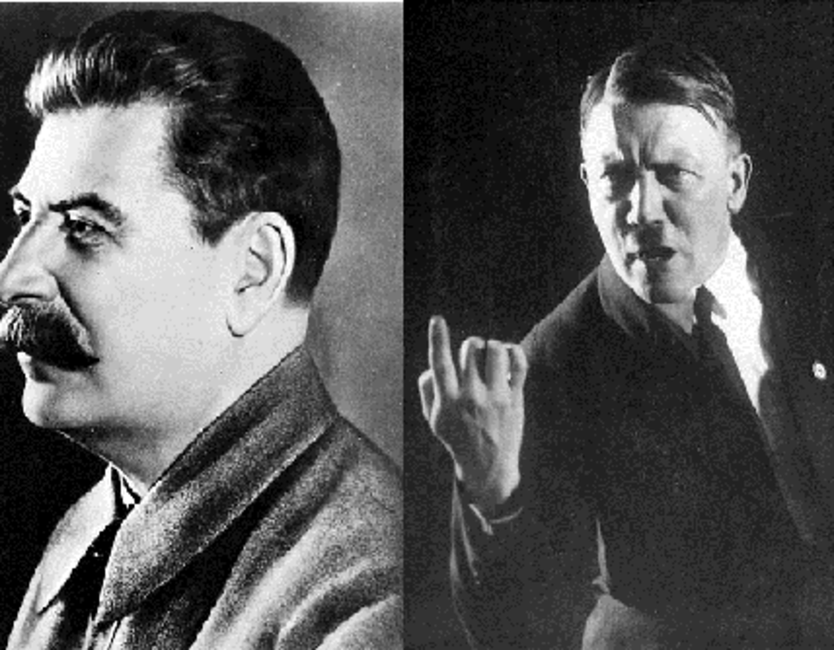 Stalin vs. Hitler:  A case of coldly calculating killer vs delusional, raving lunatic?