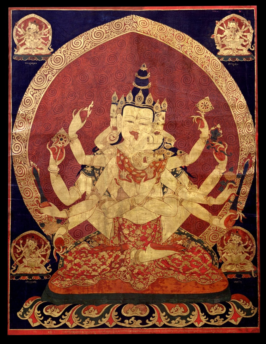 Beautiful Tibetan artwork; a great introduction into Tibetan culture and the ritual of Tibetan sky burials.