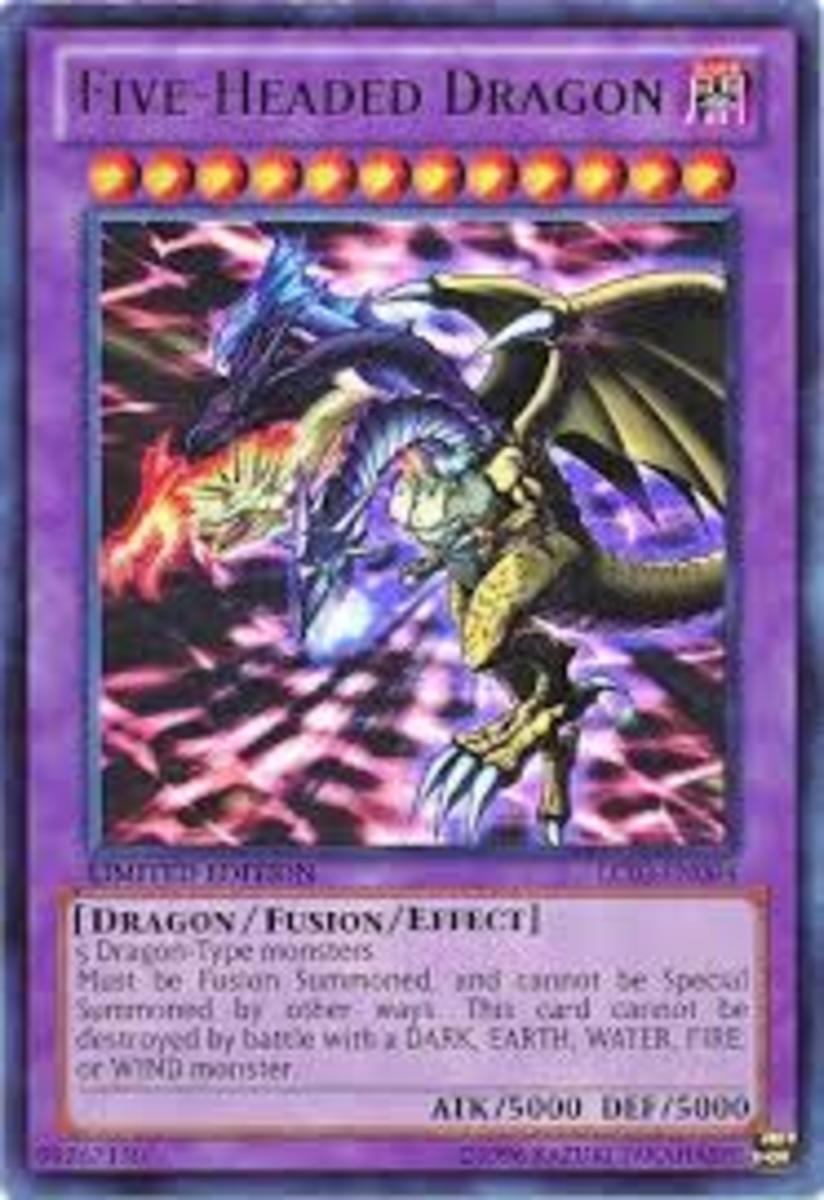 The Five Headed Dragon card is a great addition to this deck.