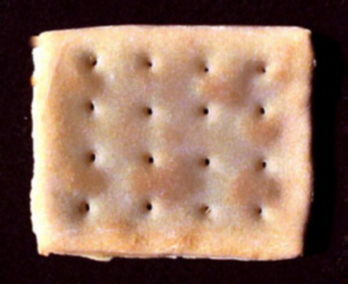 Hard Bread (aka Cracker, Hardtack, and numerous other derogatory nicknames)