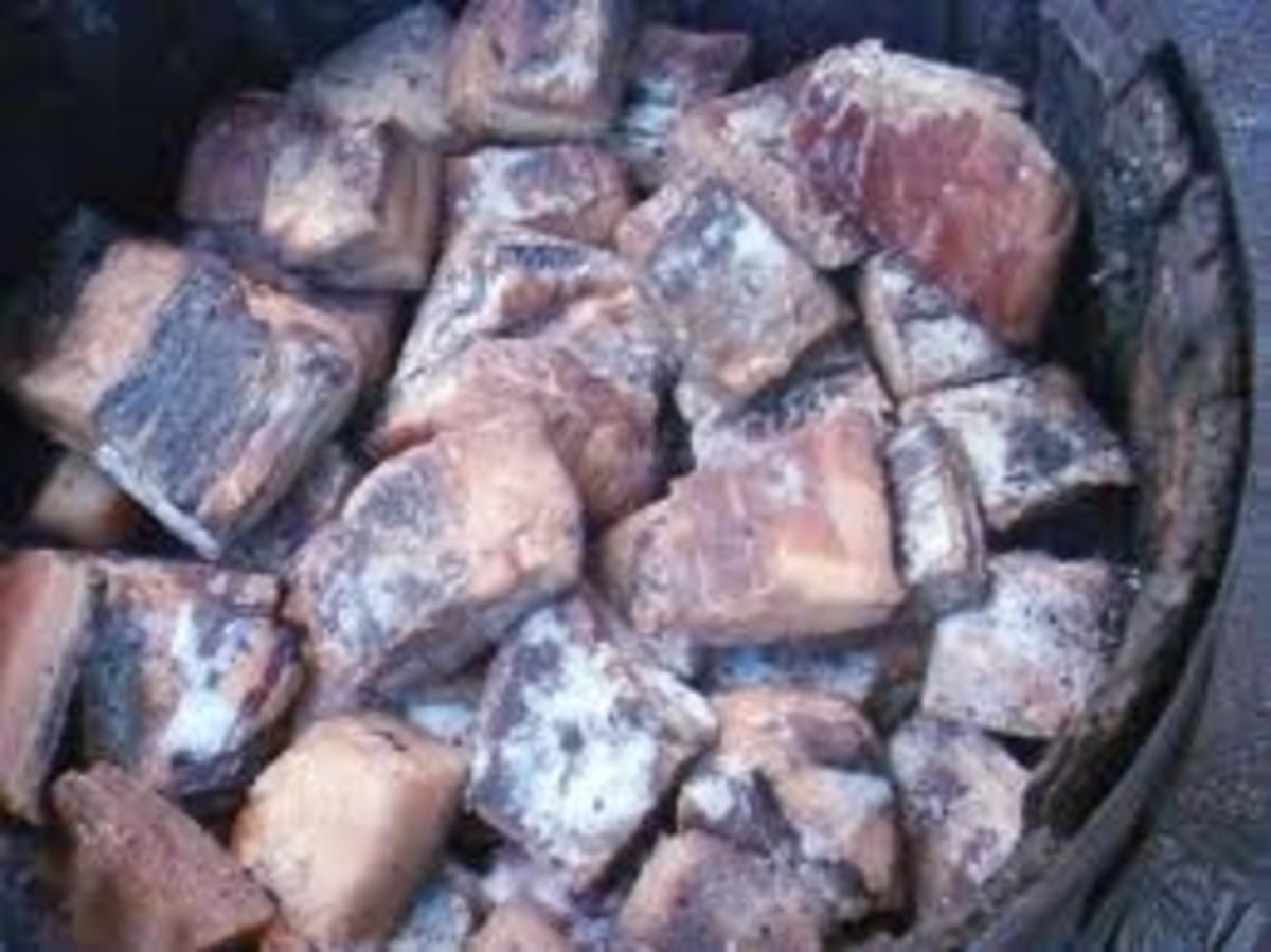 A barrel of salt beef