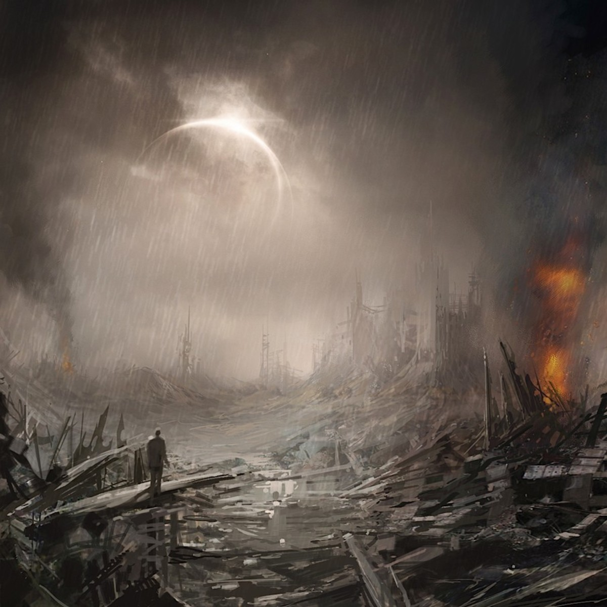 """Hell is seen by many religions to be a place of utter darkness&desolation.In hell,one is cut off from the light of God. It's a place of utter despair & hopelessness.There's a saying when one enters hell,""""Abandon hope all ye who enters here."""""""