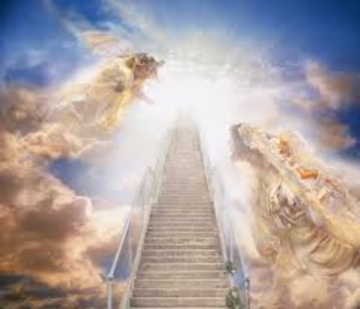 Heaven is the place of the ULTIMATE LIGHT. After all,God & other benevolent spirits reside there.It's the place of ultimate bliss & happiness.It's the place where the highest possible consciousness is atttained.