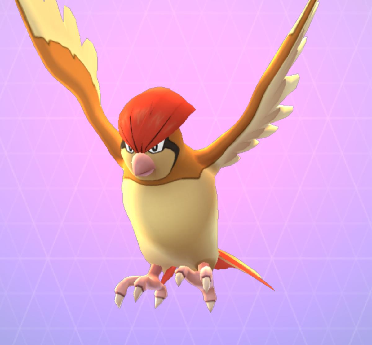 Pokemon Go Pigeotto