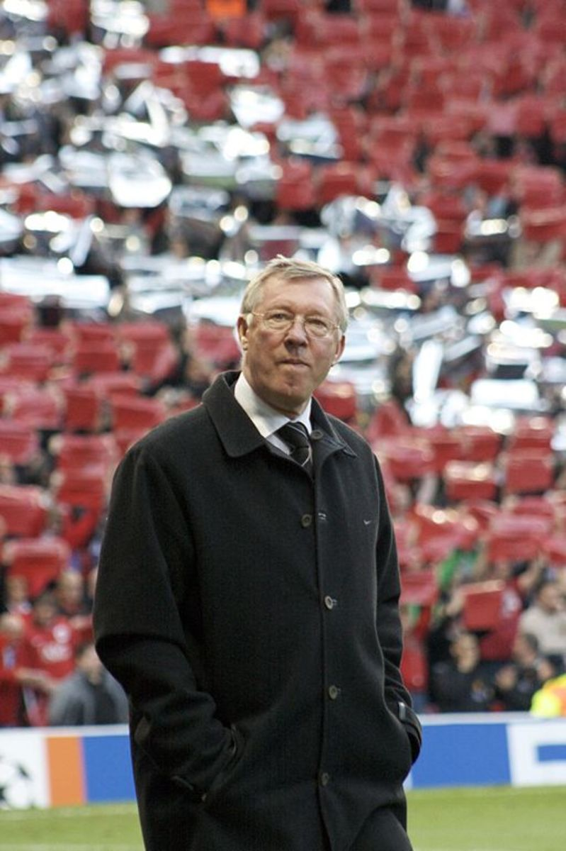 Sir Alex Ferguson - retired and promoted to director, club ambassador and author