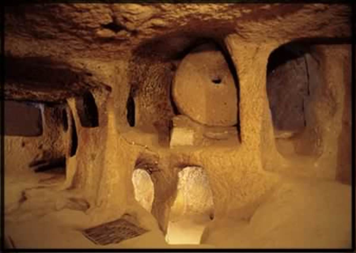 Explore Derinkuyu, the Ancient Underground City in Turkey