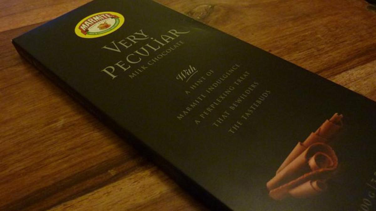 Marmite Flavored Chocolate.