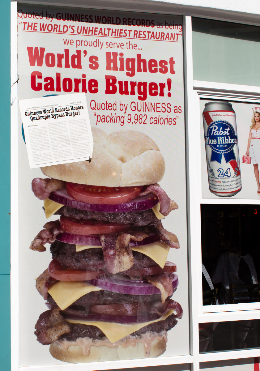 Despite their less-than flattering advertising, The Heart Attack Grill continues to grow in popularity and controversy