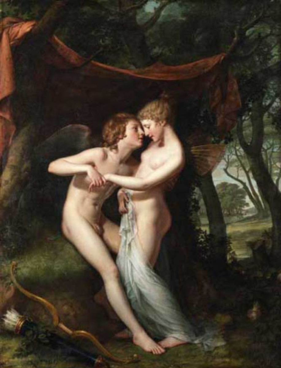 Cupid and Psyche in the Nuptial Bower, 1793
