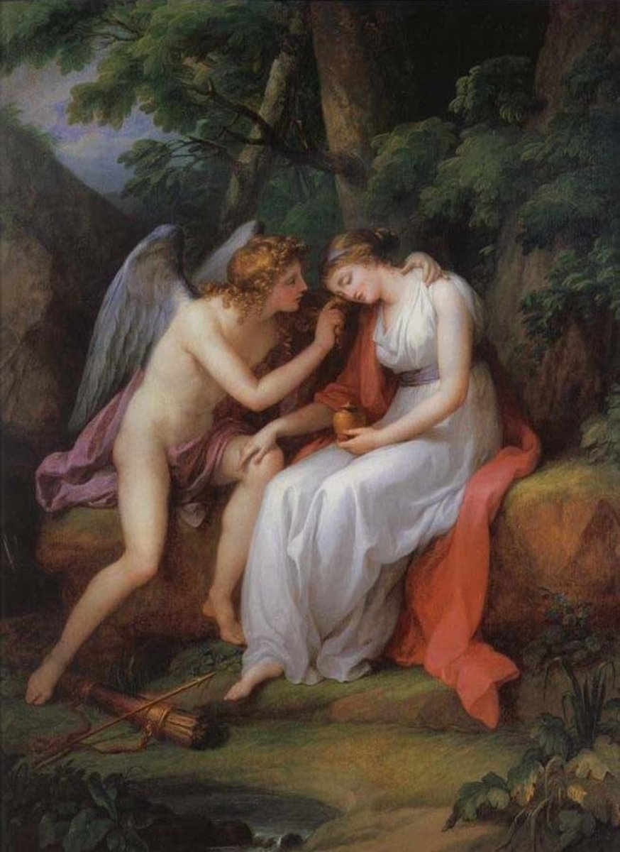 Amor and Psyche, 1797