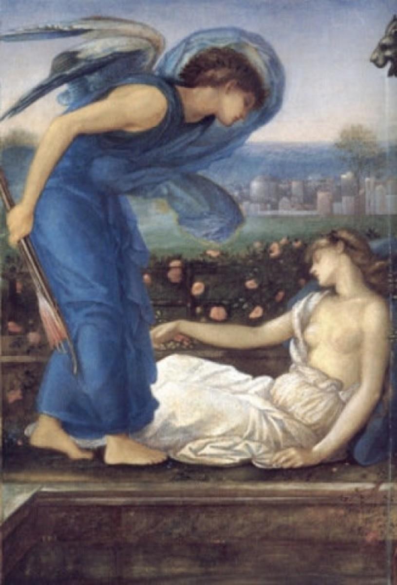 Cupid Finding Psyche, circa 1868