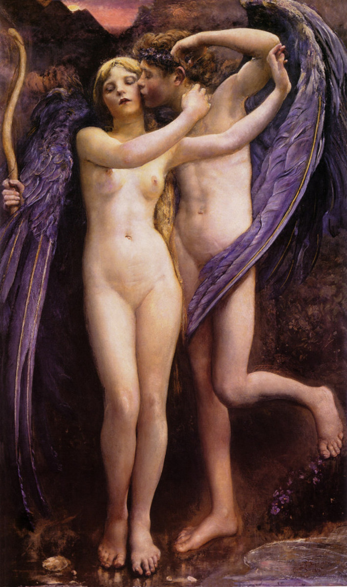 Cupid and Psyche, 1891