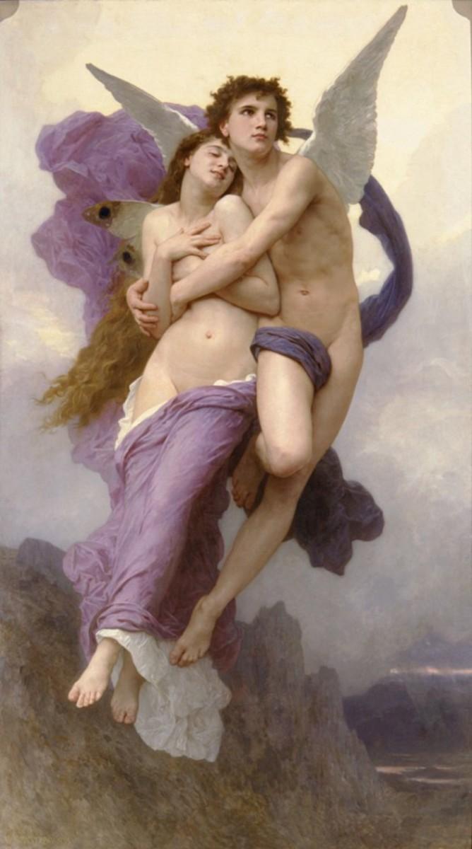 Le Ravissement de Psyche (The Rapture of Psyche), 1895