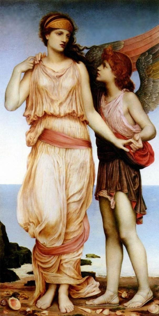 Venus and Cupid, 1878