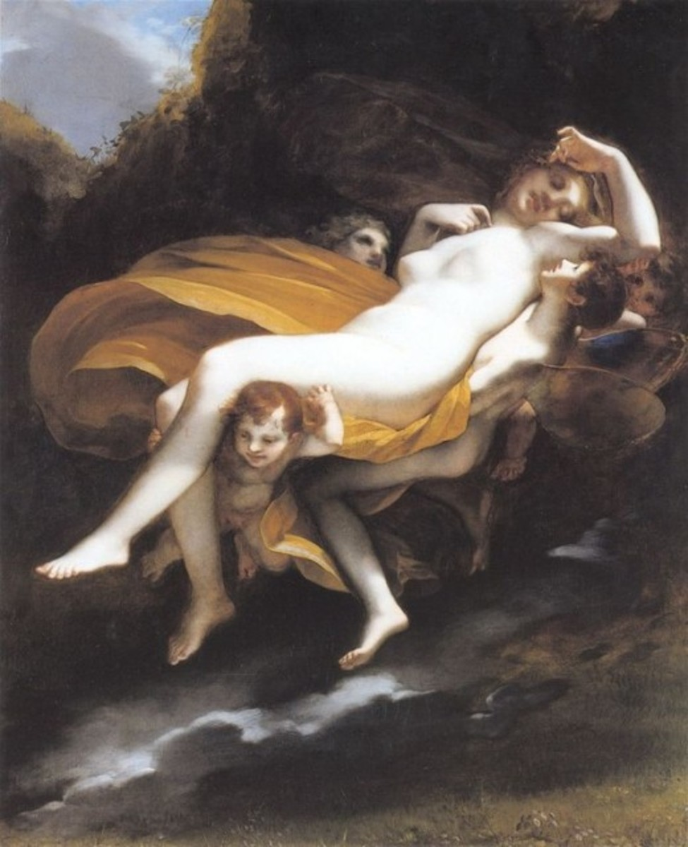 Psyche Transported to Heaven Pierre-Paul Prud'hon