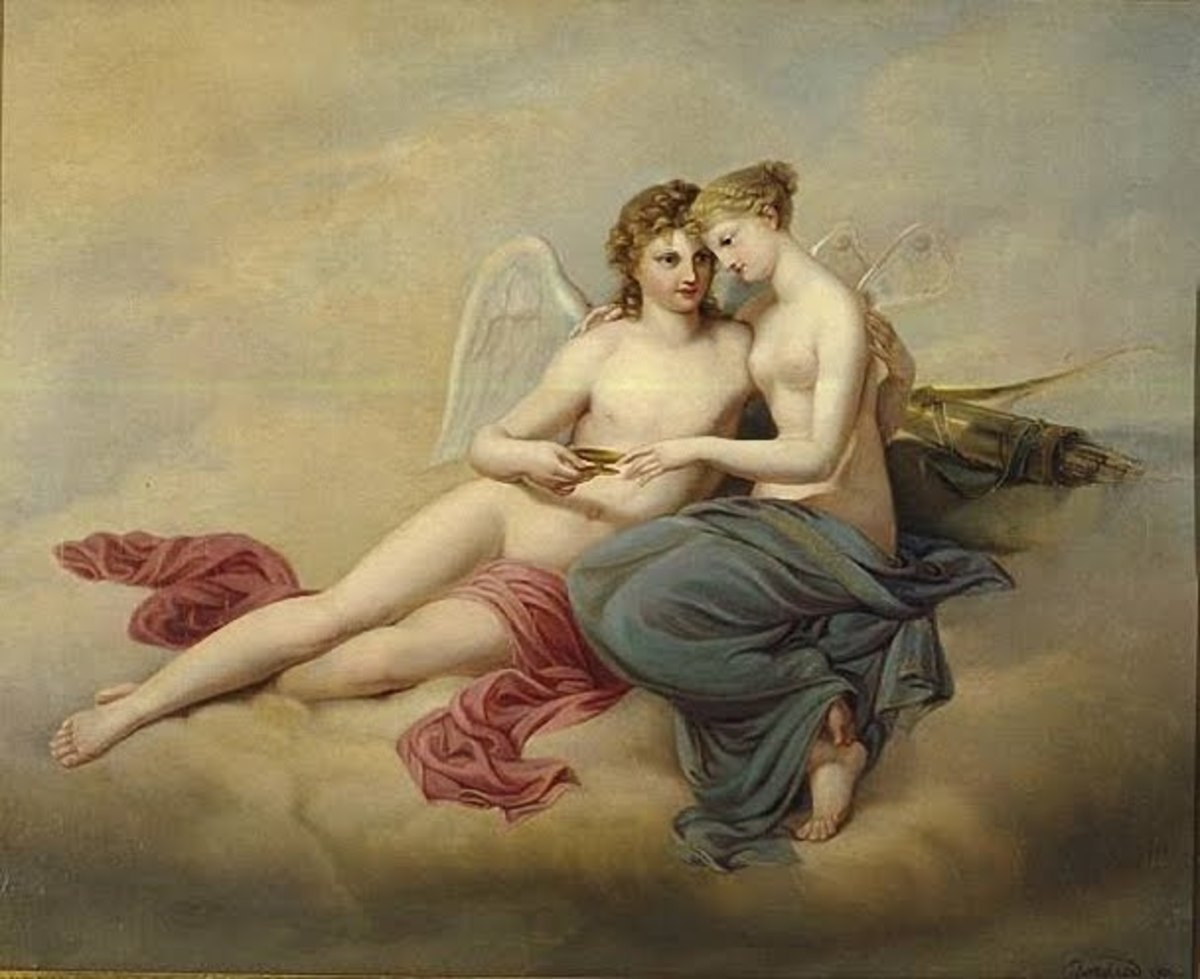 Amor and Psyche, 1795