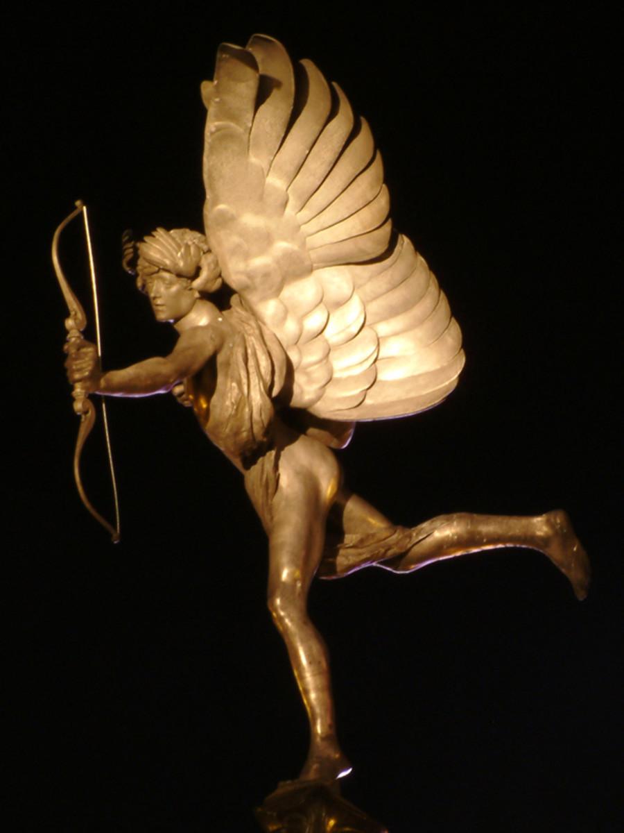 Picadilly Circus Eros, 1893