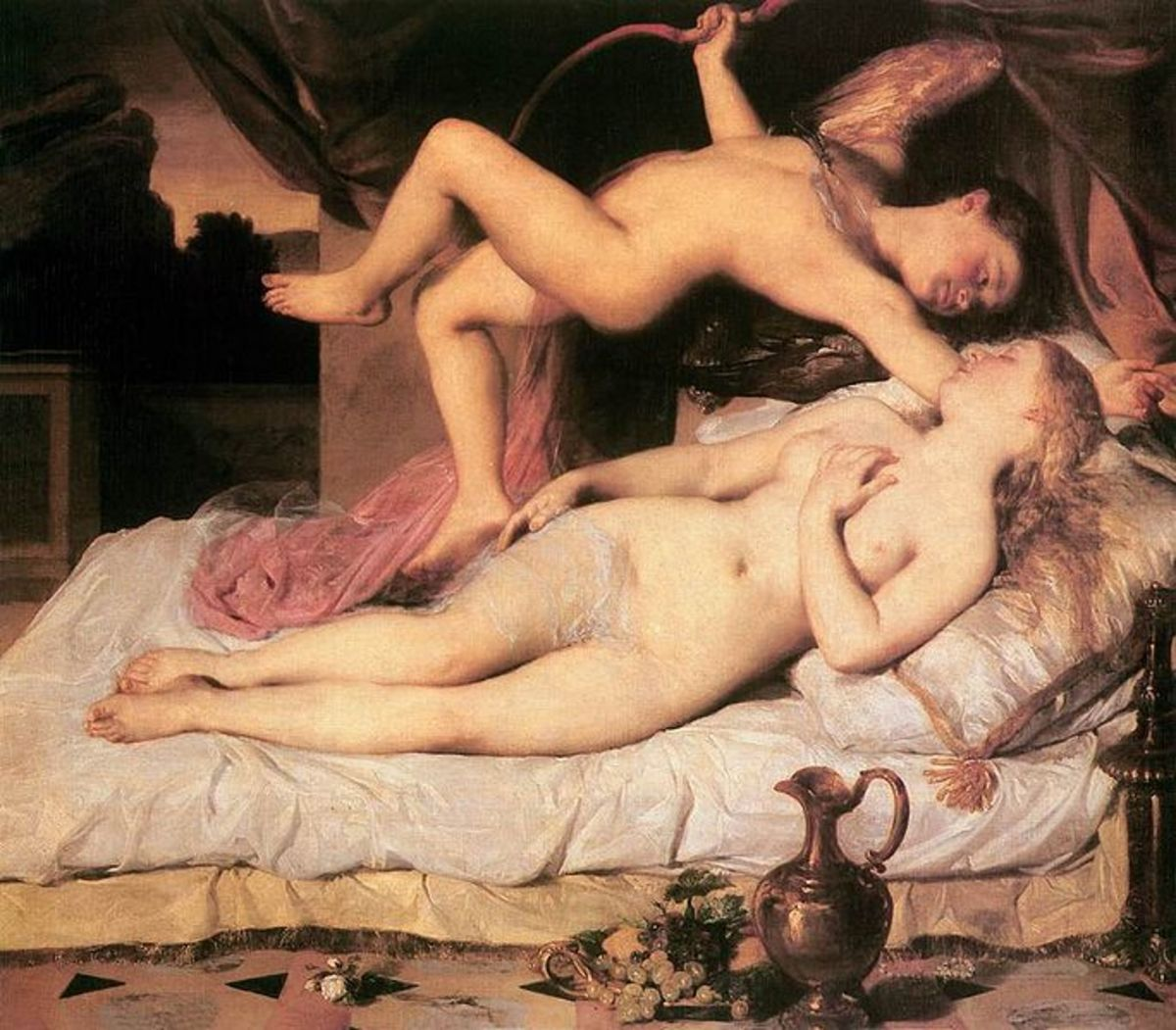 Cupid and Psyche, 1850