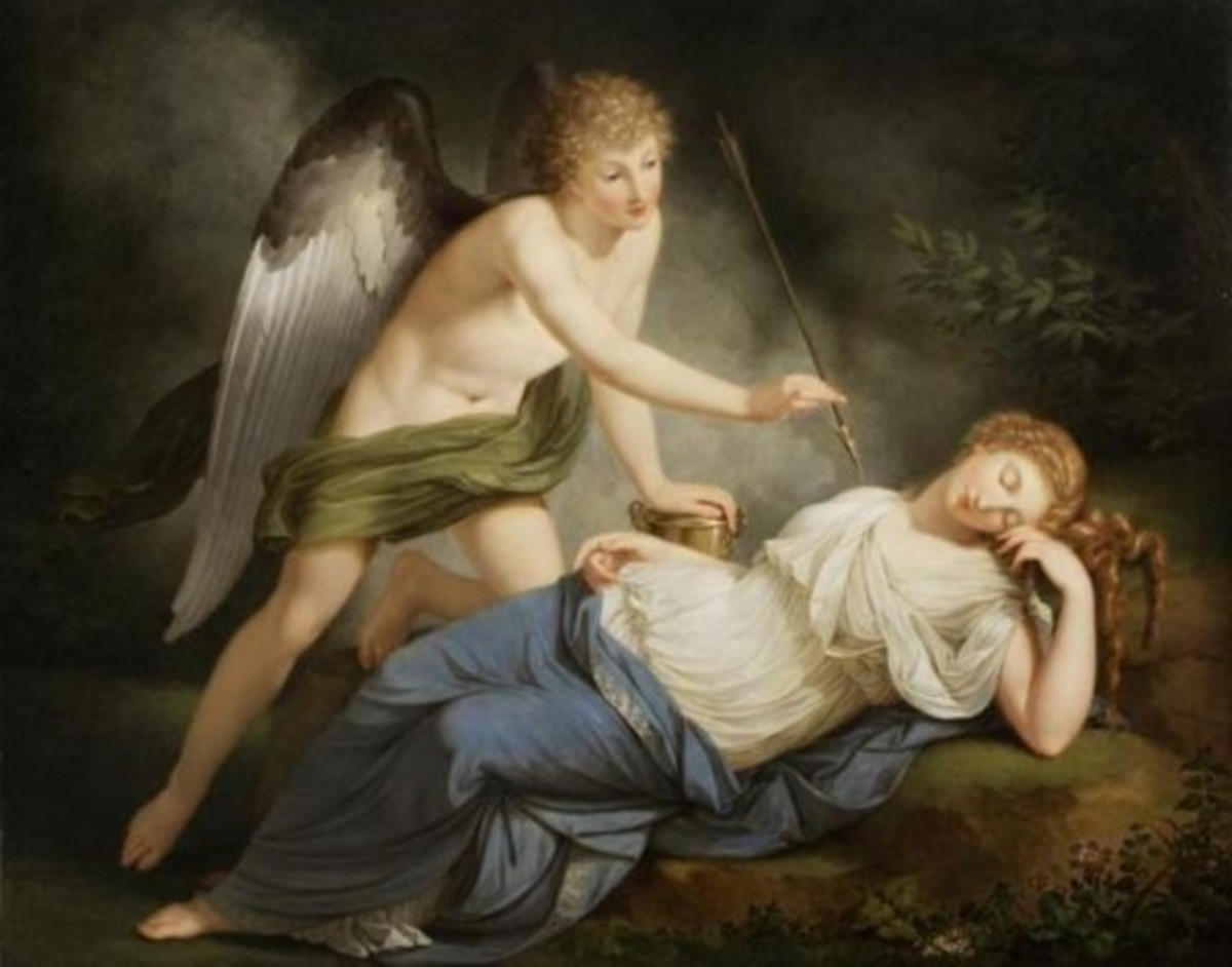 Cupid Wakes Psyche, 1790