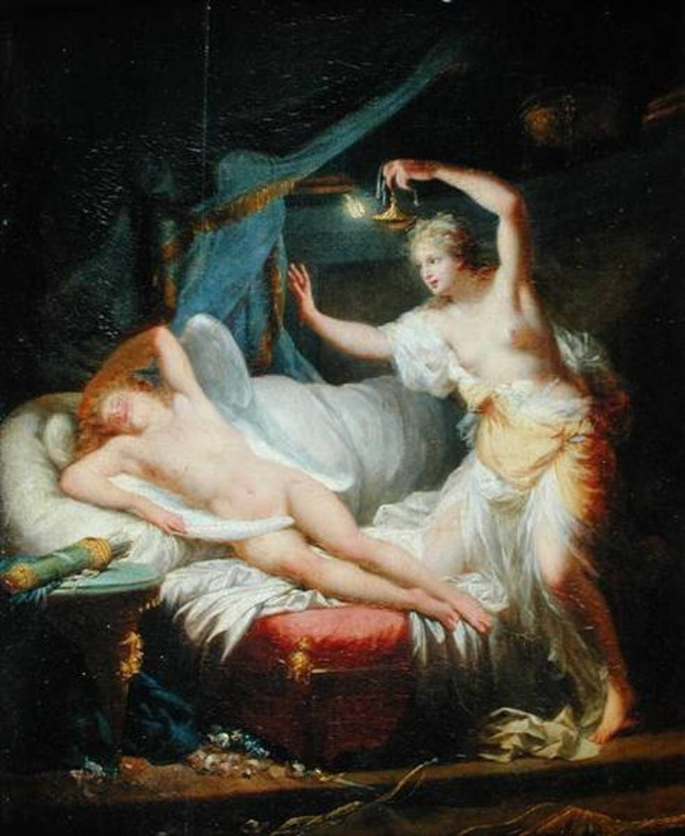 Cupid and Psyche, 1828